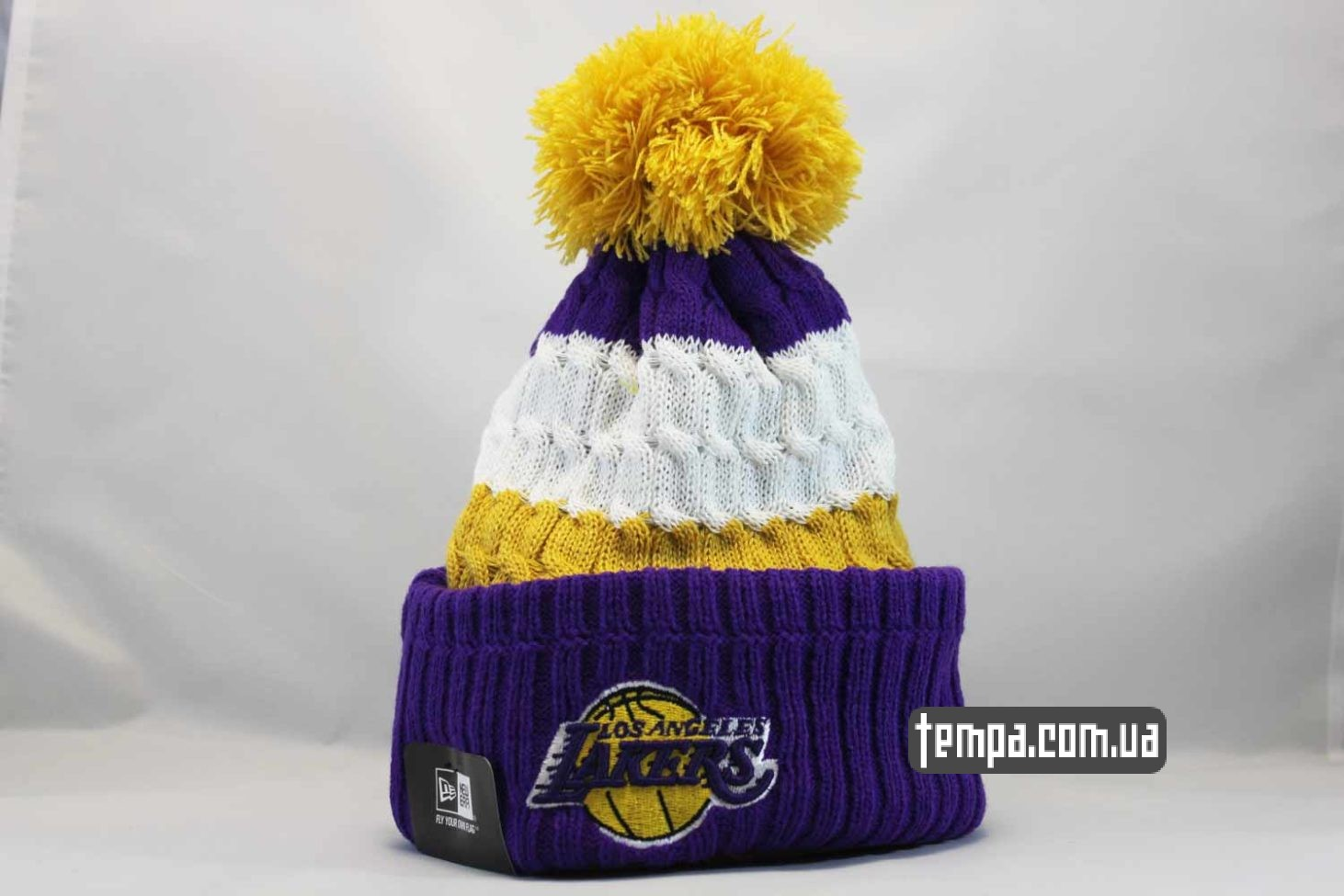 шапка beanie LAKERS Los Angeles NBA NewEra баскетбольная