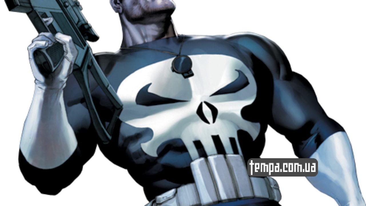 Punisher marvel одежда купить Украина