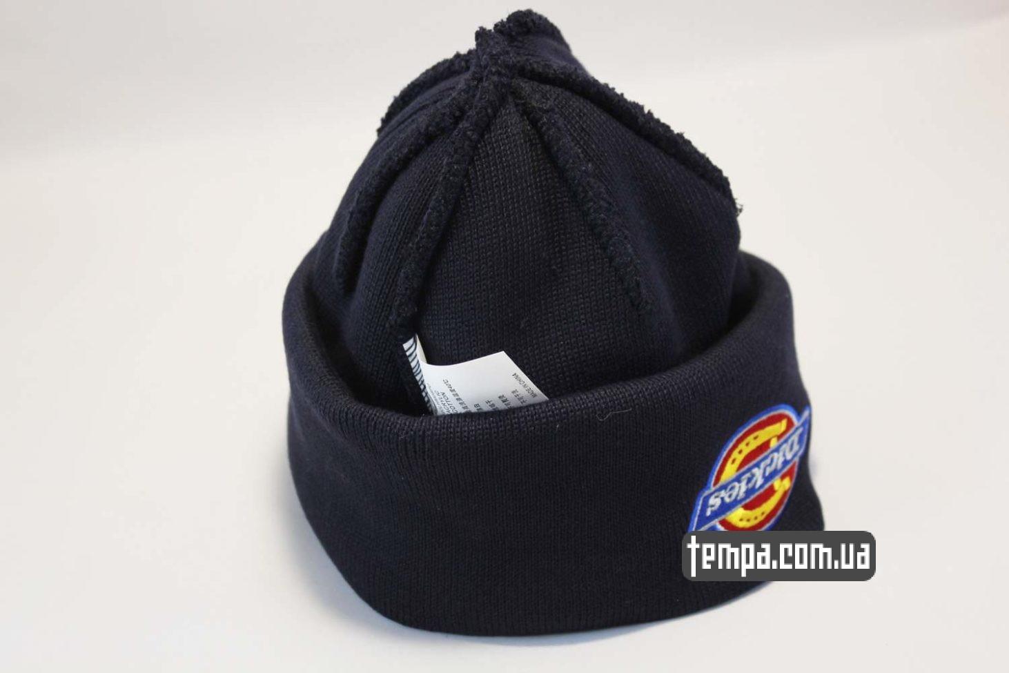 dickies украина шапка beanie Dickies синяя купить Украина
