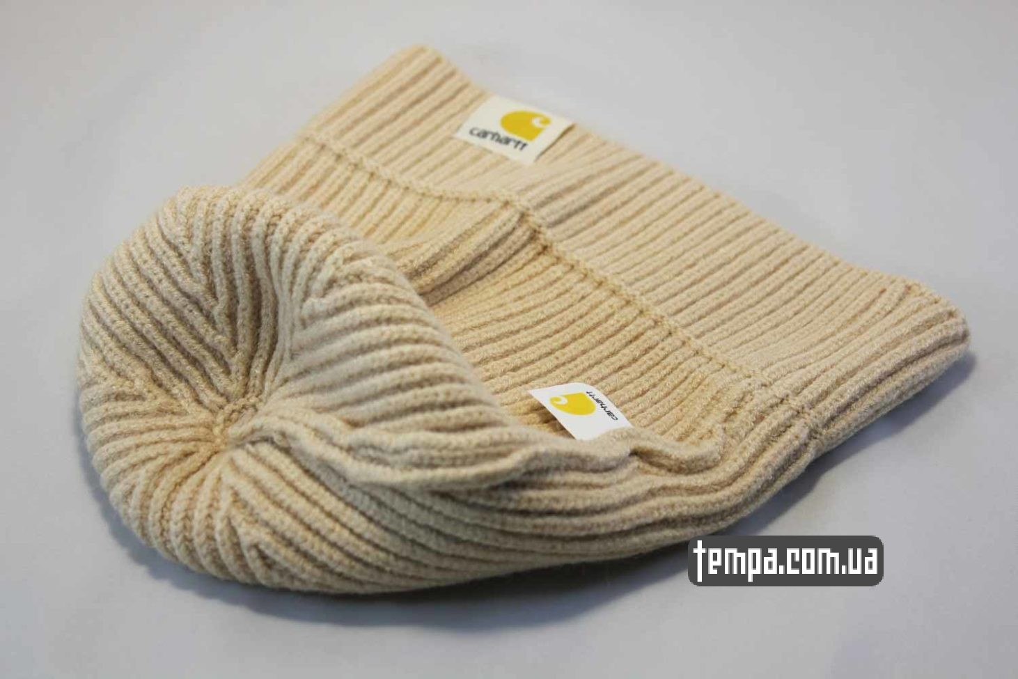 кархарт украина магазин шапка beanie Carhartt бежевая купить Украина