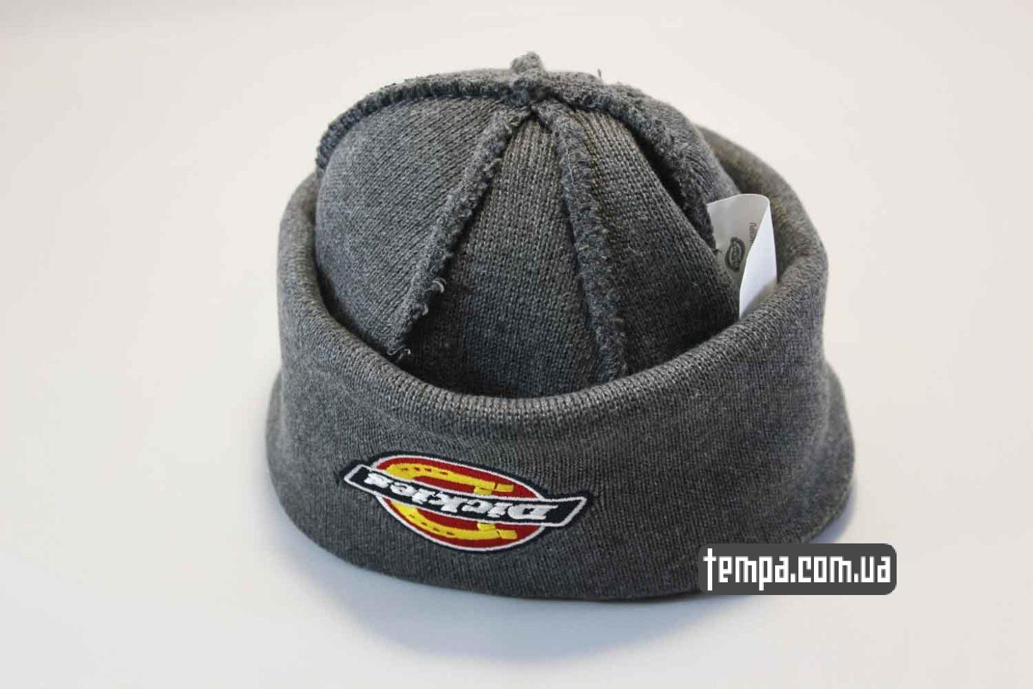 магазин одежды dickies шапка beanie Dickies grey серая купить Украина
