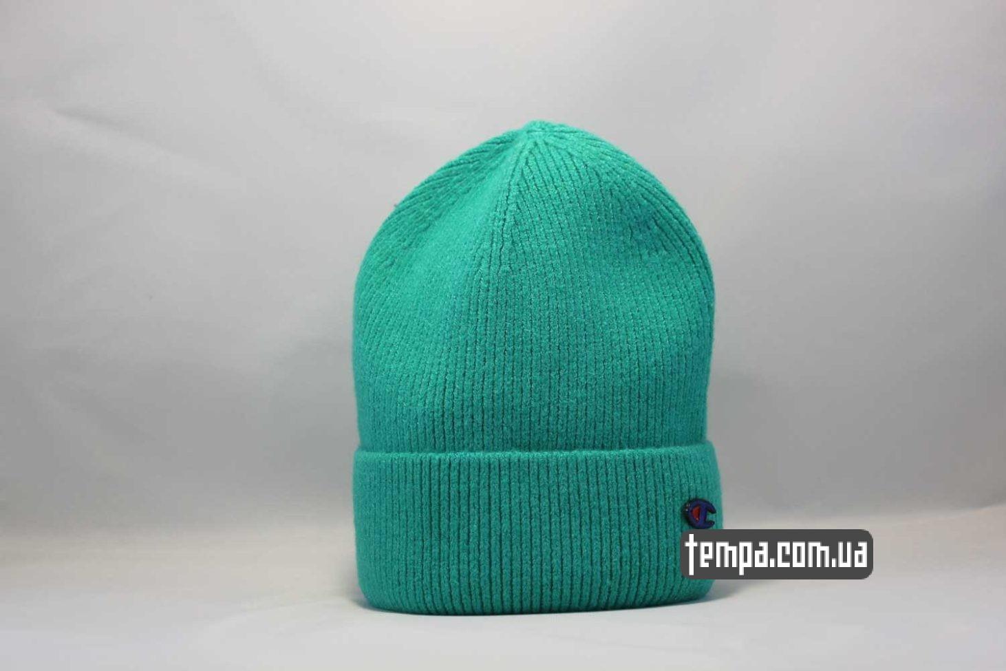шапка beanie Champion green зеленая купить Украина