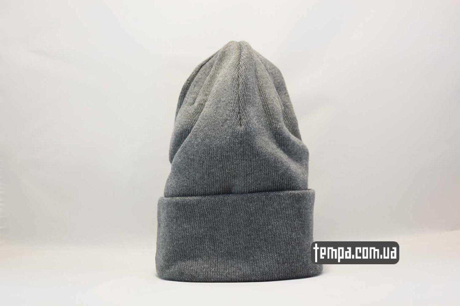 шапка бини купить украина шапка beanie Dickies grey серая купить Украина
