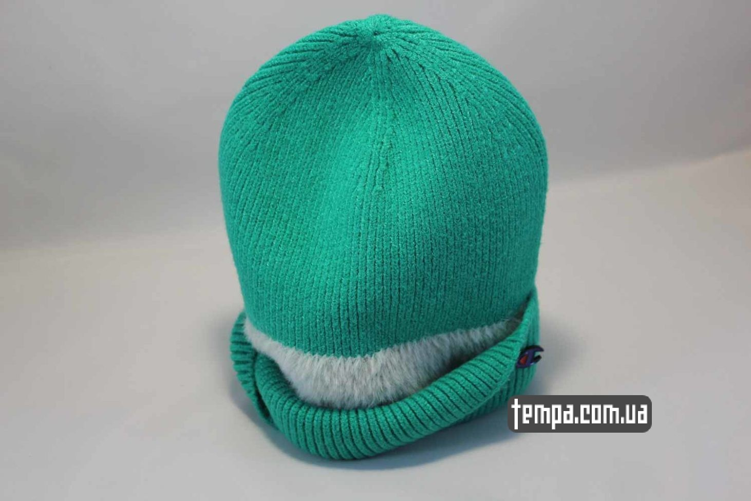 шерстяная шапка beanie Champion green зеленая купить Украина