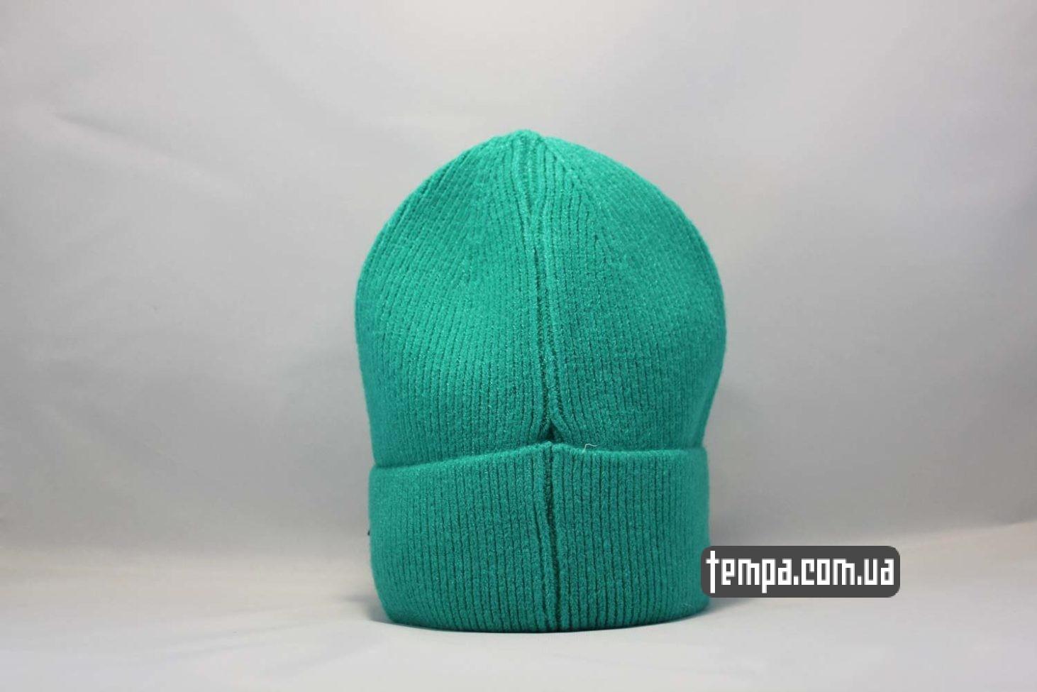 яркая салатовая шапка beanie Champion green зеленая купить Украина