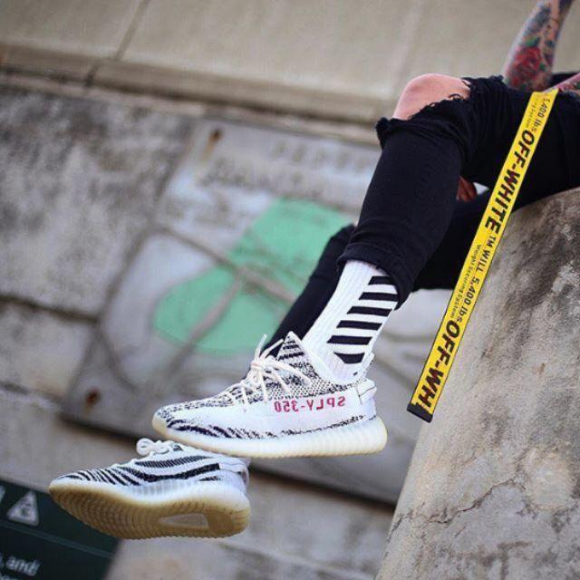 off white socks носки высокие с принтами купить Украина