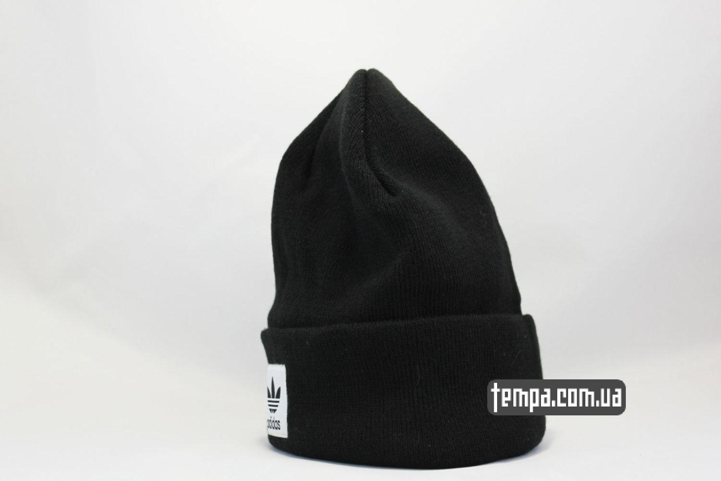адидас купить шапка beanie ADIDAS originals черная купить Украина