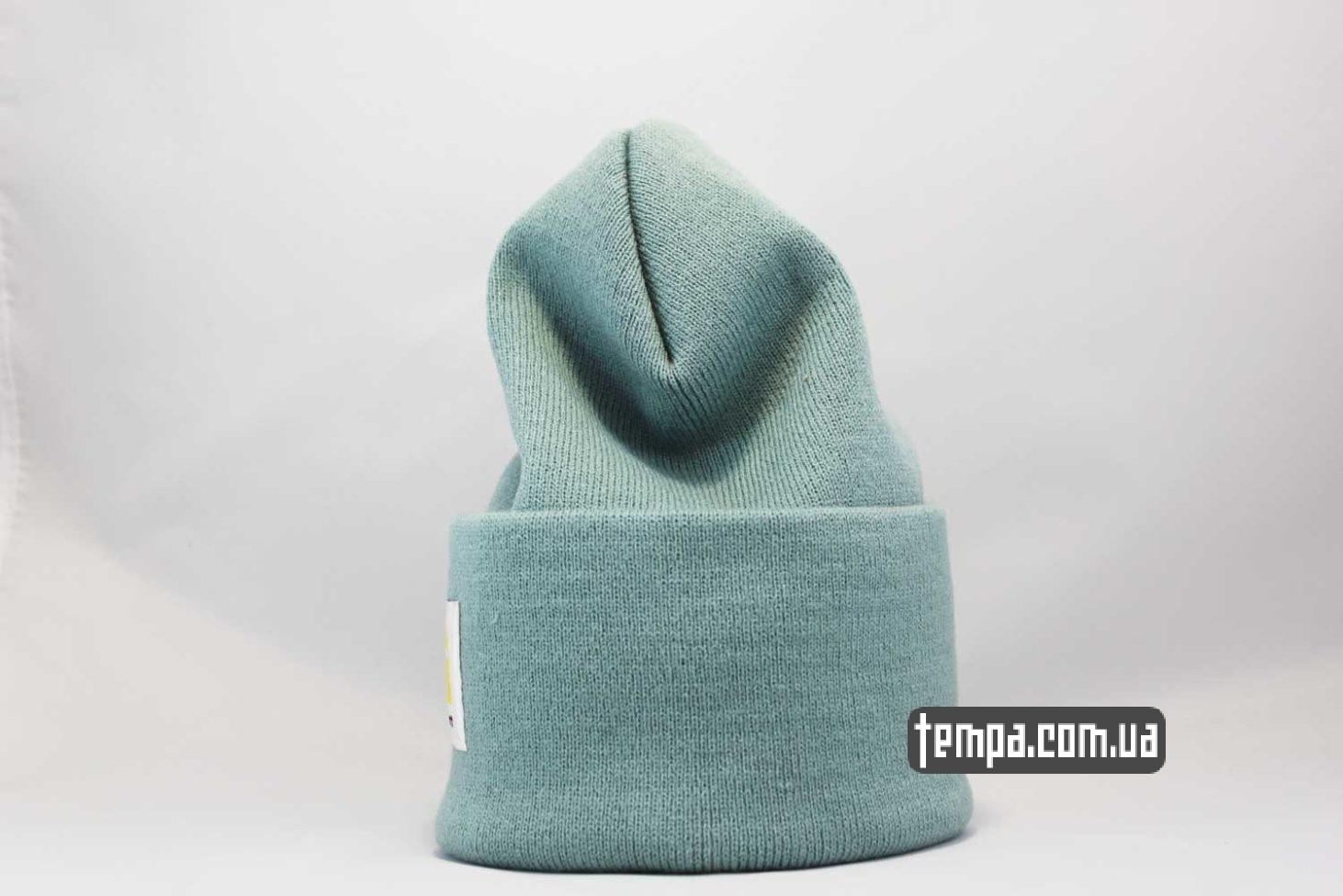 carhartt купить Украина шапка beanie Carhartt зеленая оригинал купить