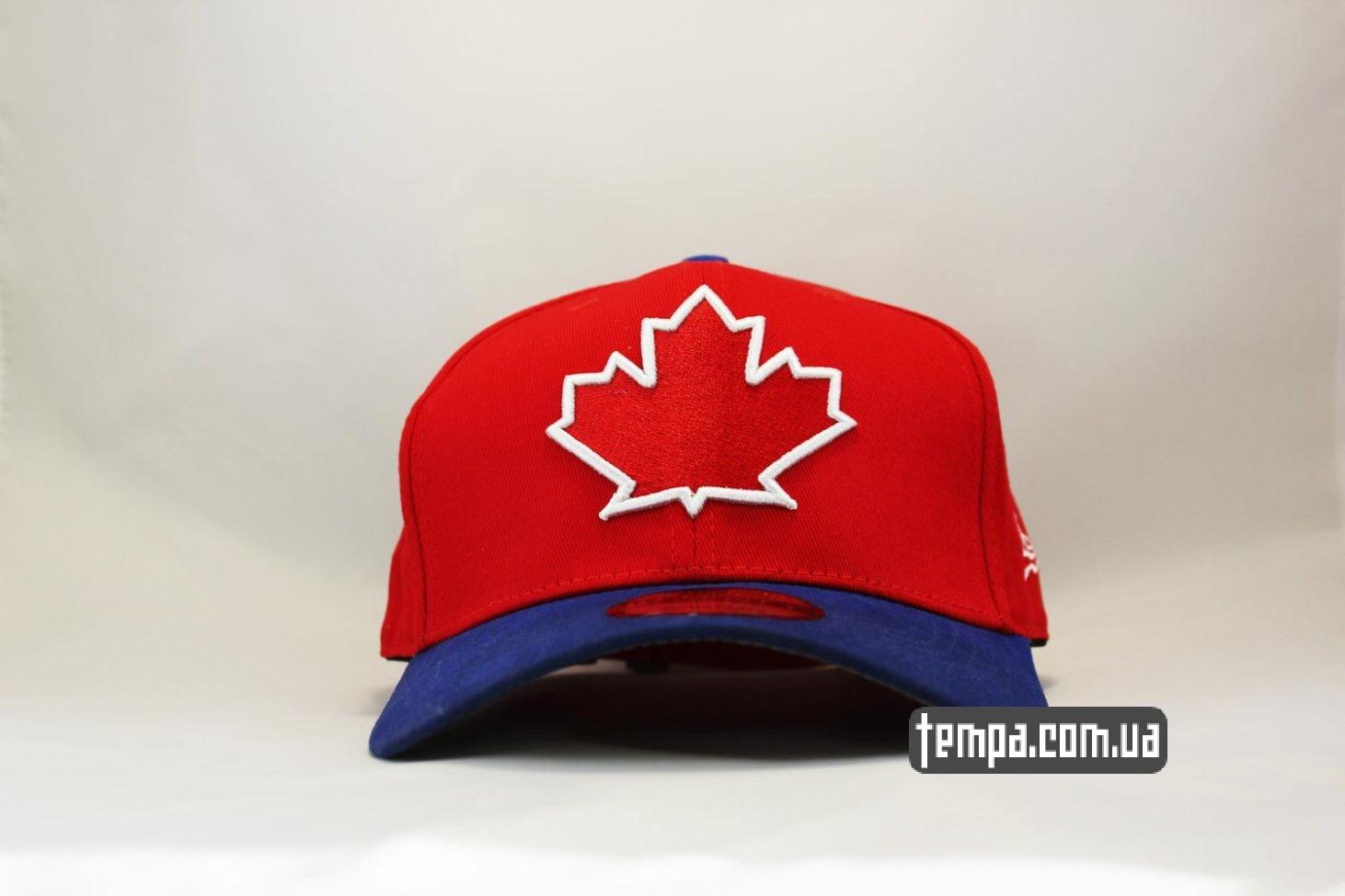 кепка snapback Canada New Era канадский флаг клиновый