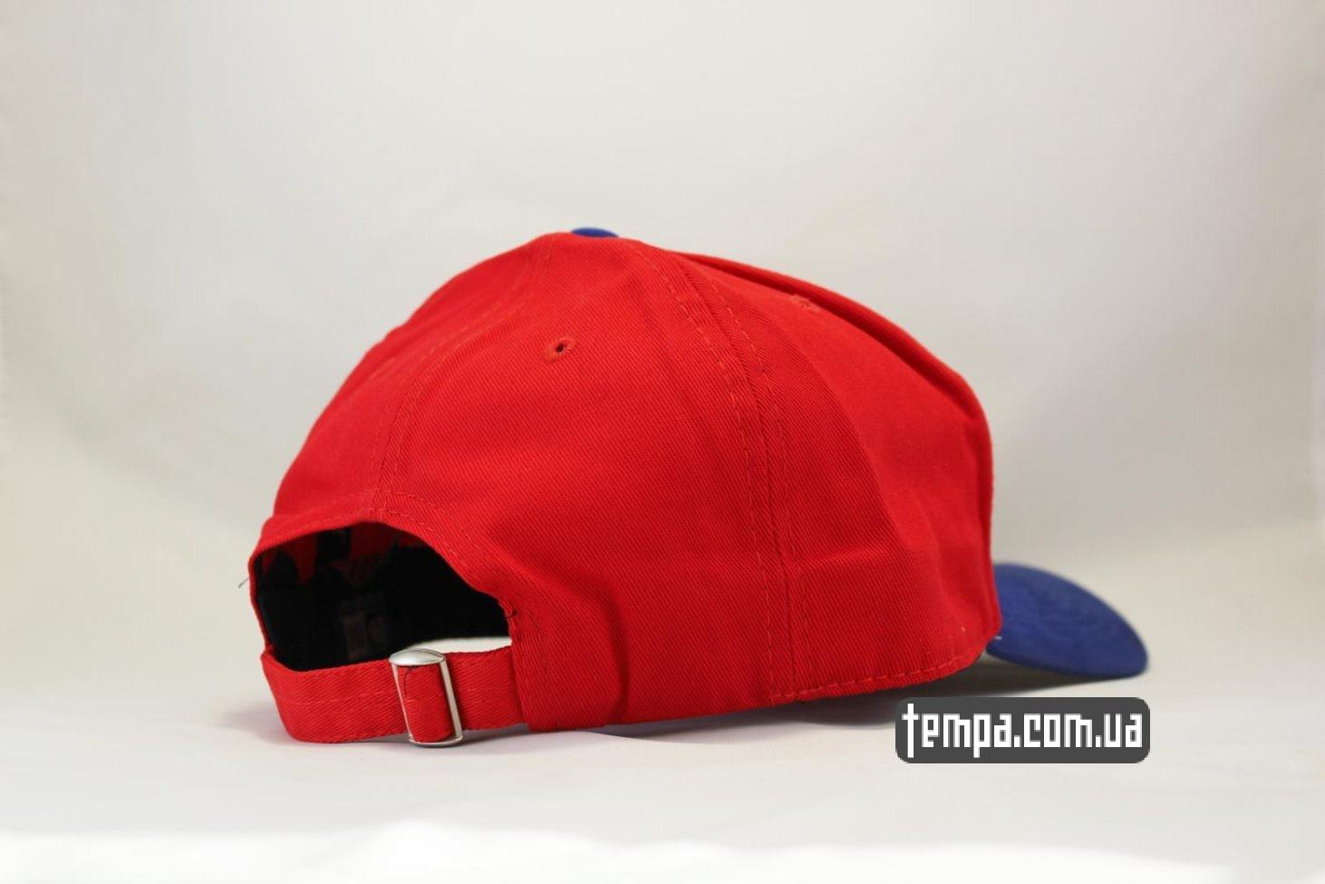 красная бейсболка кепка snapback Canada New Era канадский флаг клиновый