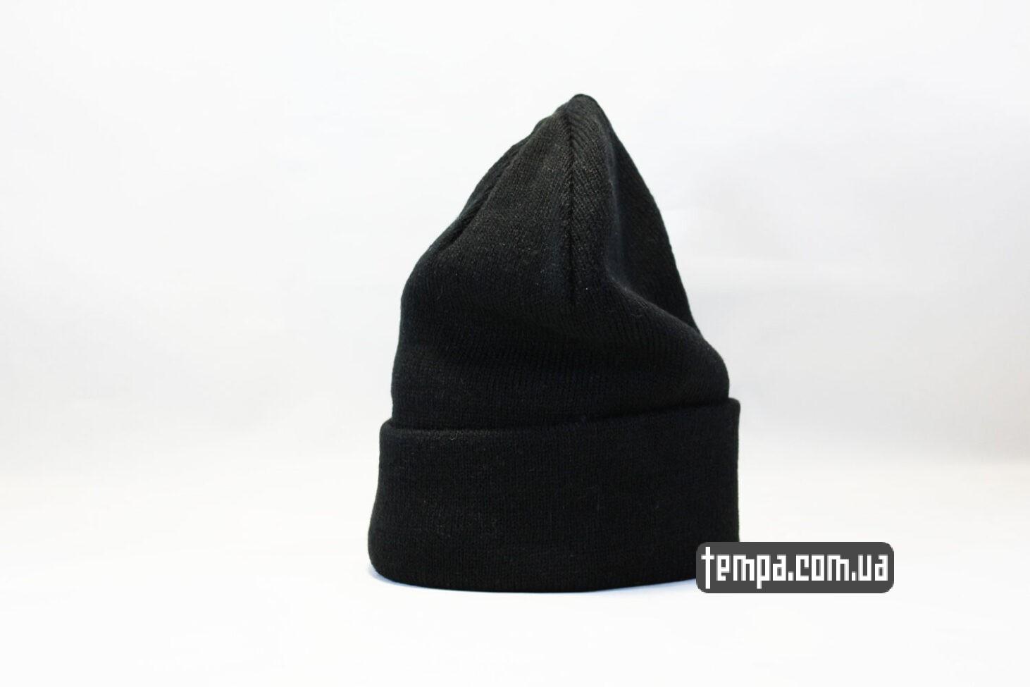 магазин одежды шапка beanie черная однотонная без логотипов asos hm