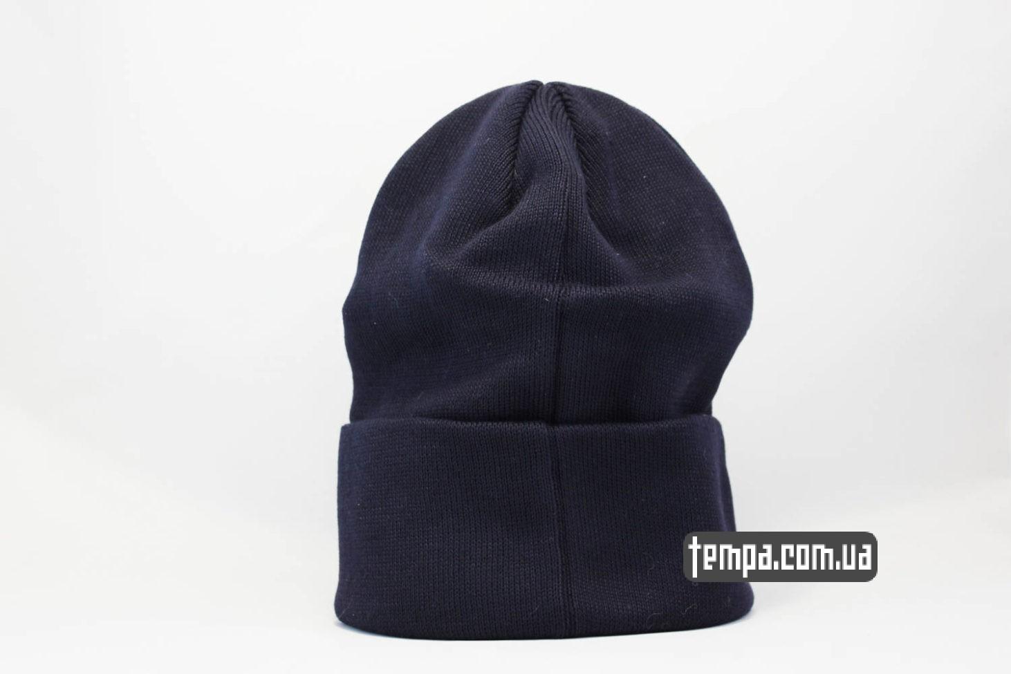 магазин шапок бини шапка beanie STUSSY синяя купить Украина
