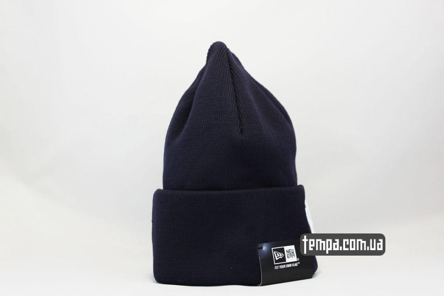 нью эра украина шапка beanie New York Yankees New Era темно-синяя