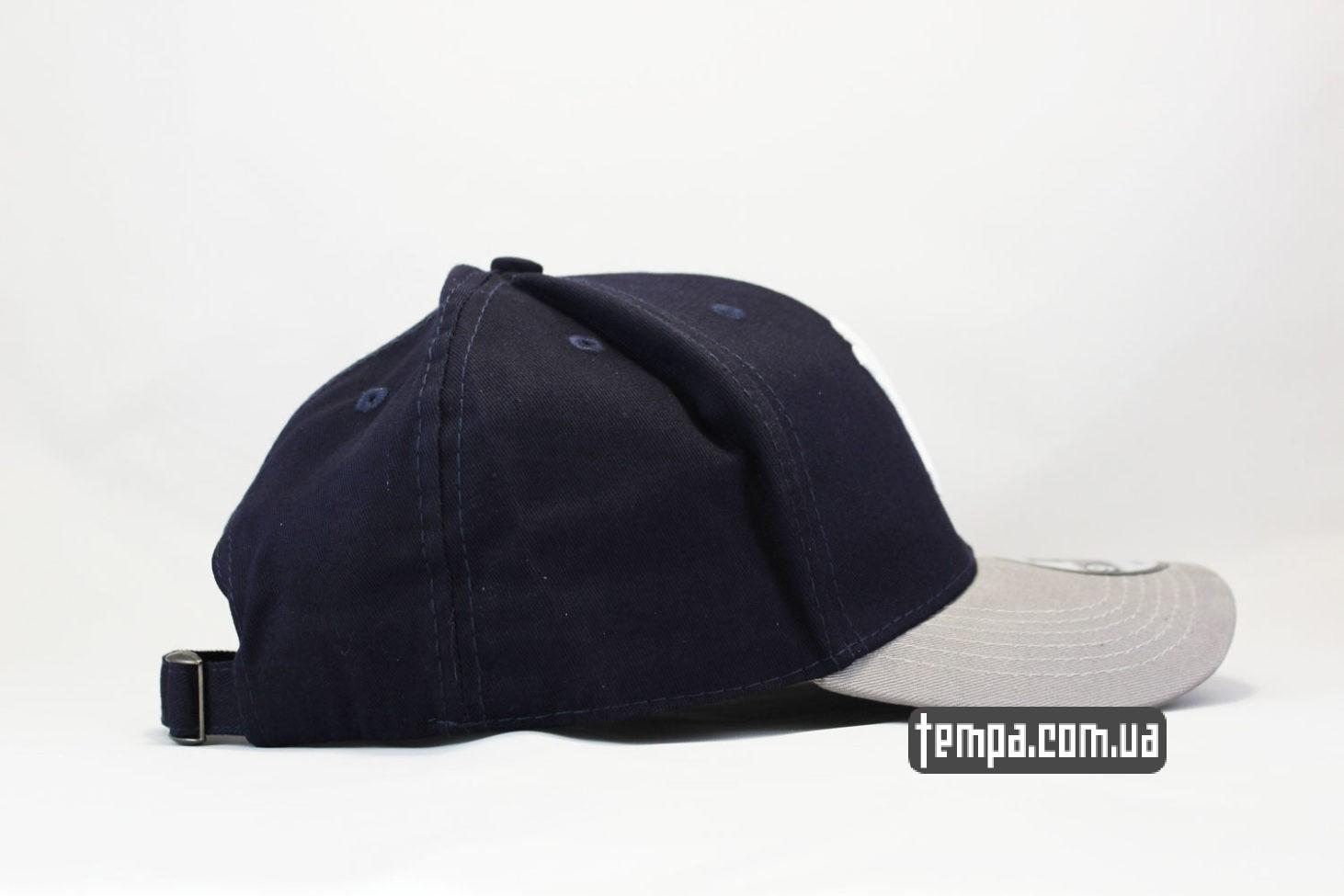 снепбек кепка бейсболка YANKESS New York snapback синяя америкаснкая