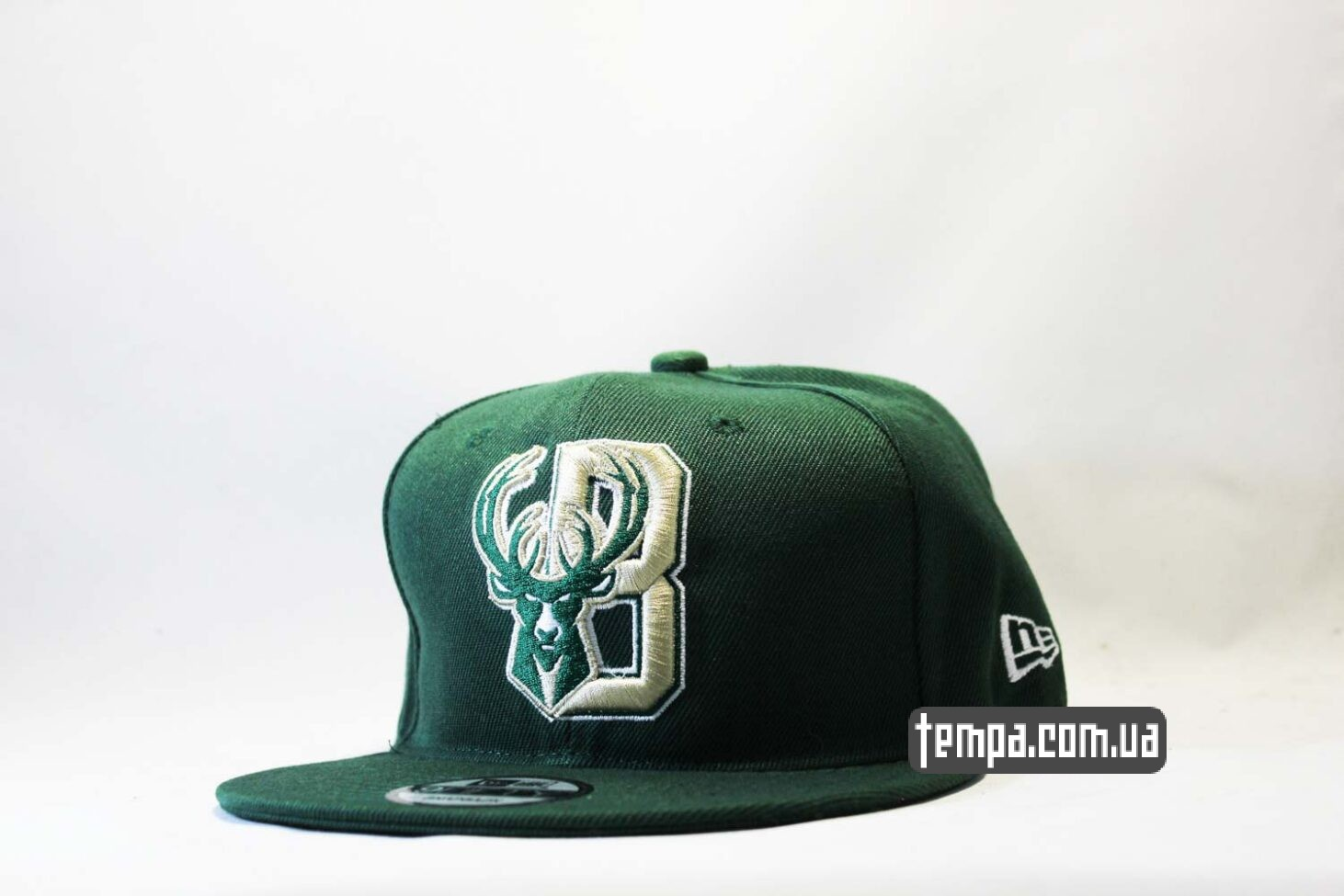 кепка snapback Deer green New Era зелена baseball