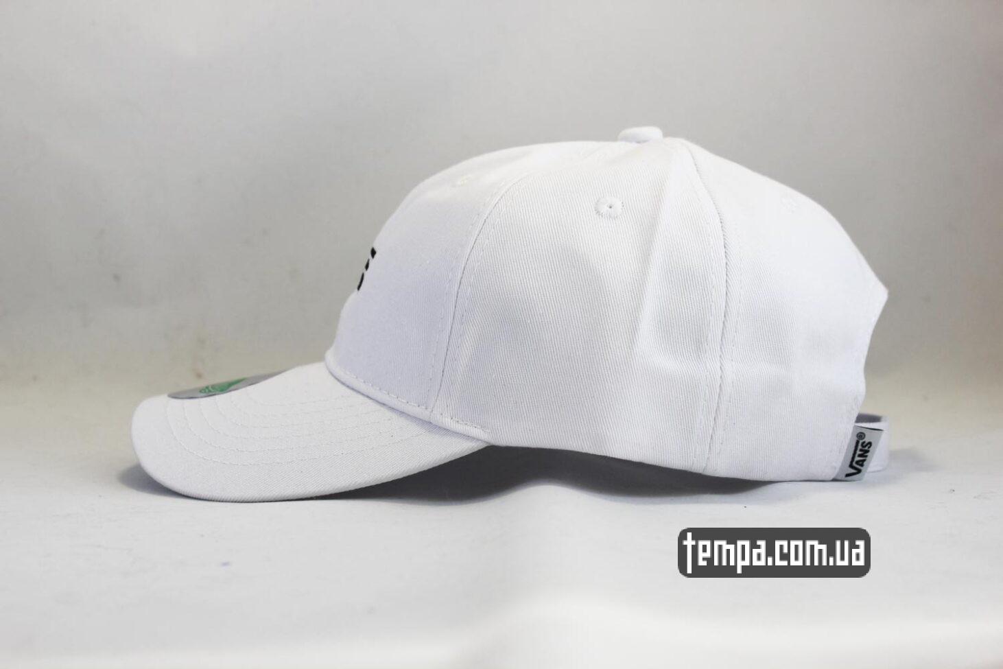 одежда вэнс украина кепка VANS белая snapback VANS OFF THE WALL купить