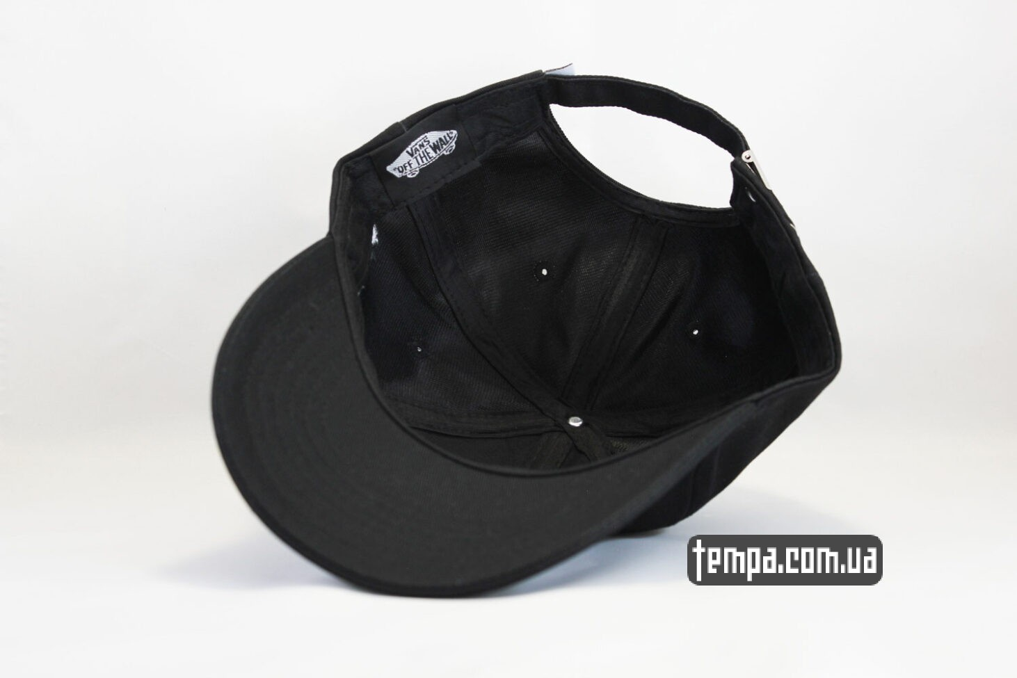 скейтерская VANS OFF THE WALL black cap черная кепка купить