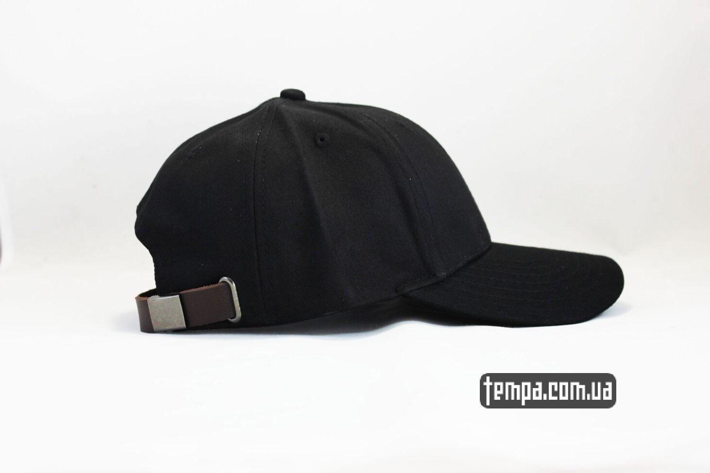 снебпки украина кепка бейсболка Champion черная логотип сбоку-2