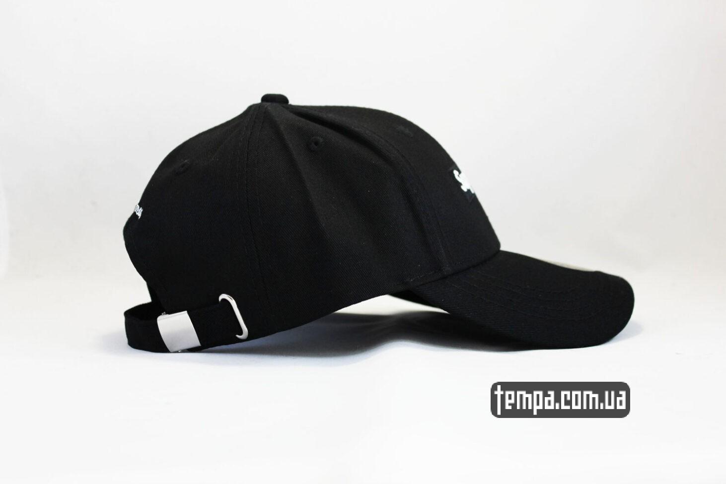 supreme black logo кепка бейсболка supreme черный логотип суприм украина