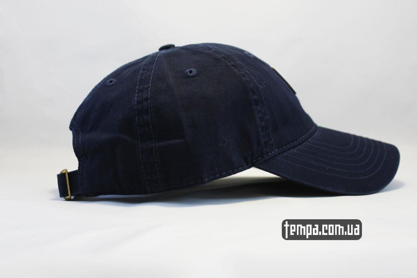 карахарт украина кепка бейсболка Carhartt синяя кожаный логотип