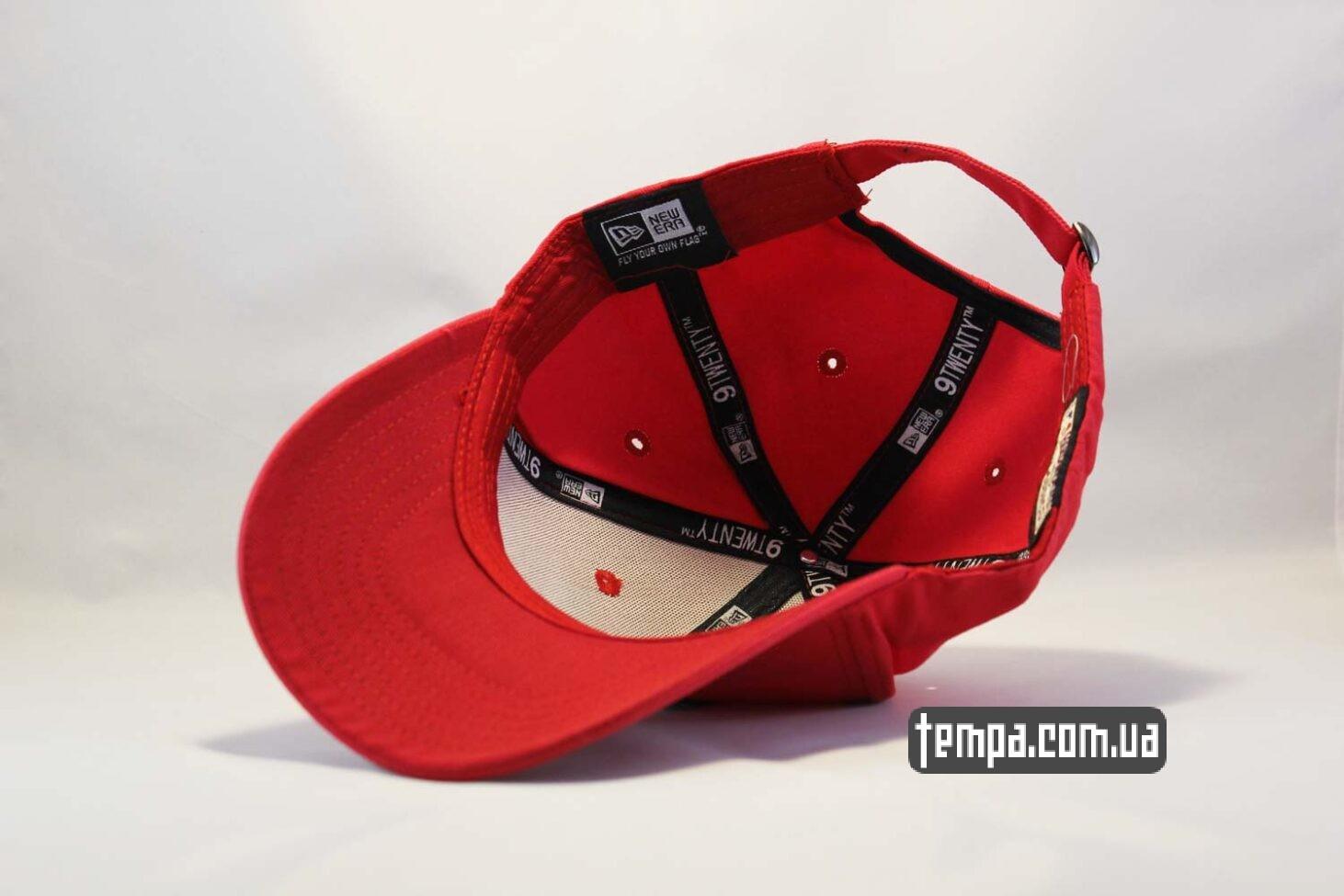 new era ukraine кепка бейсболка Chicago Bulls New Era 9TWENTY красная с быком