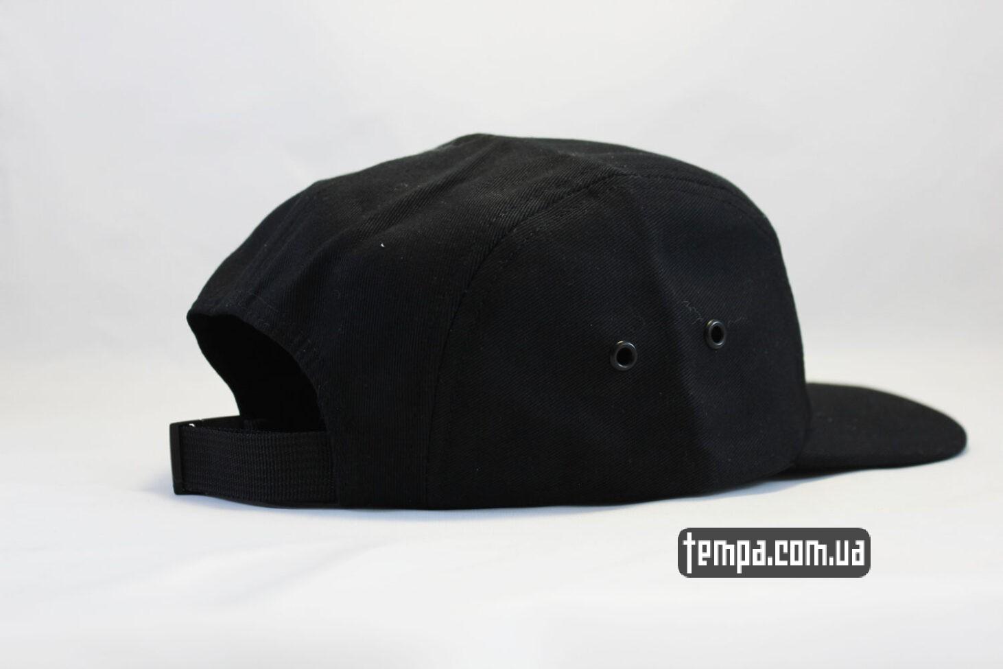 пятипанелька пятипанельная кепка carhartt 5 panel cap черная
