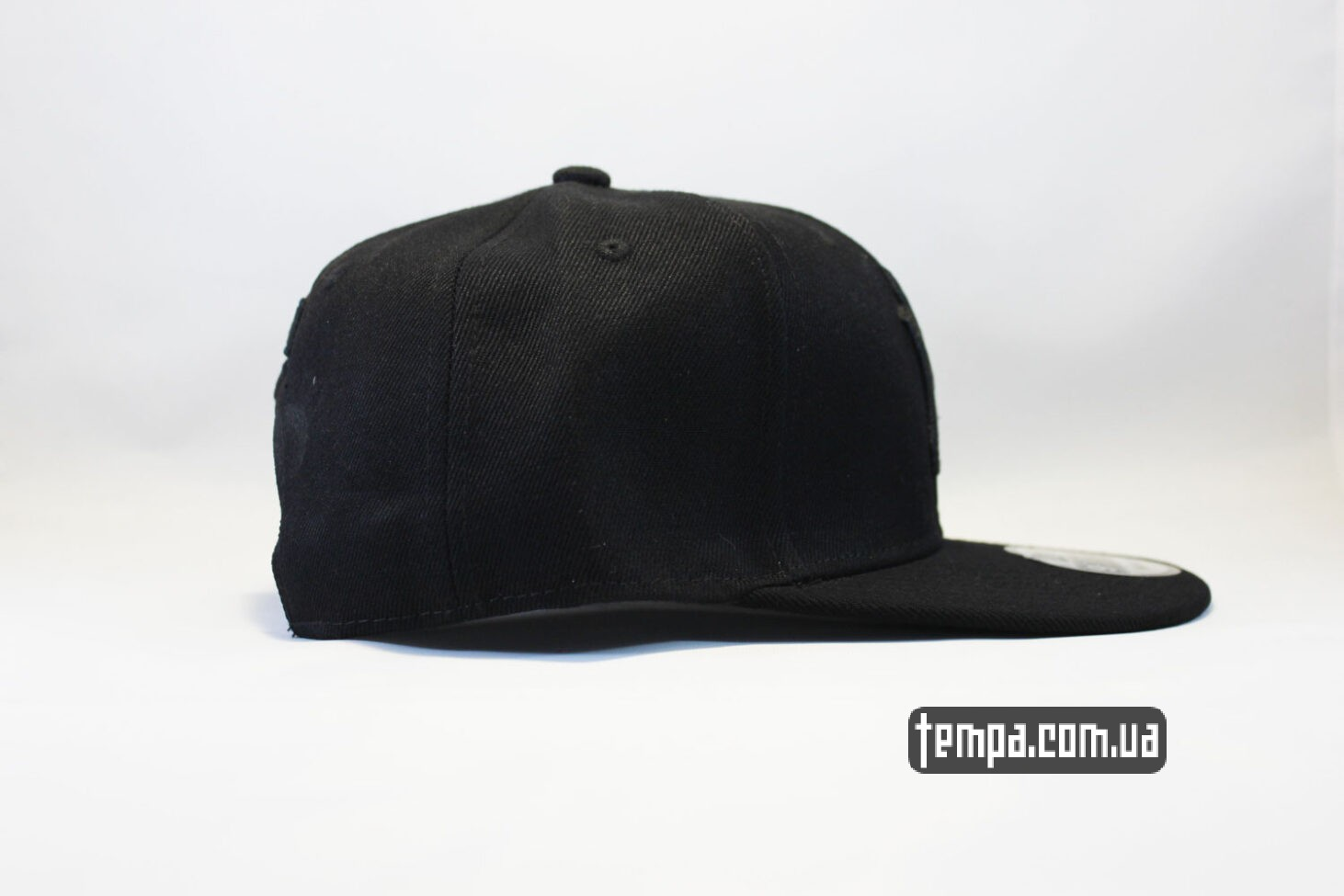 black on black  бейсболка кепка Snapback New Era NYC New York черная на черном black