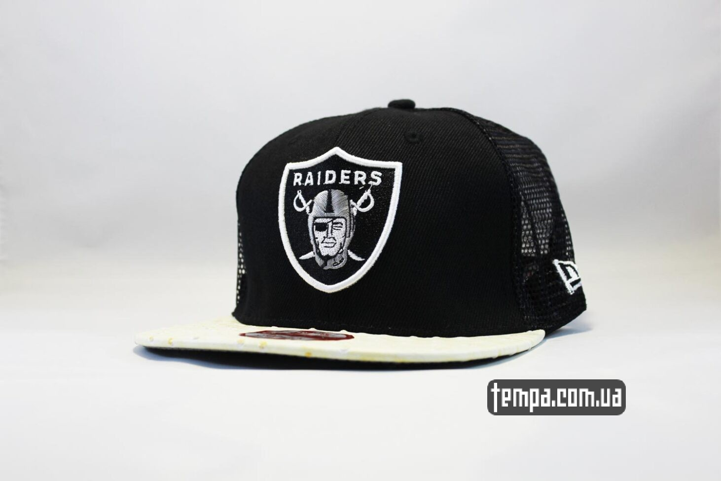 кепка Trucker Snapback Raiders New Era 9fifty сетка
