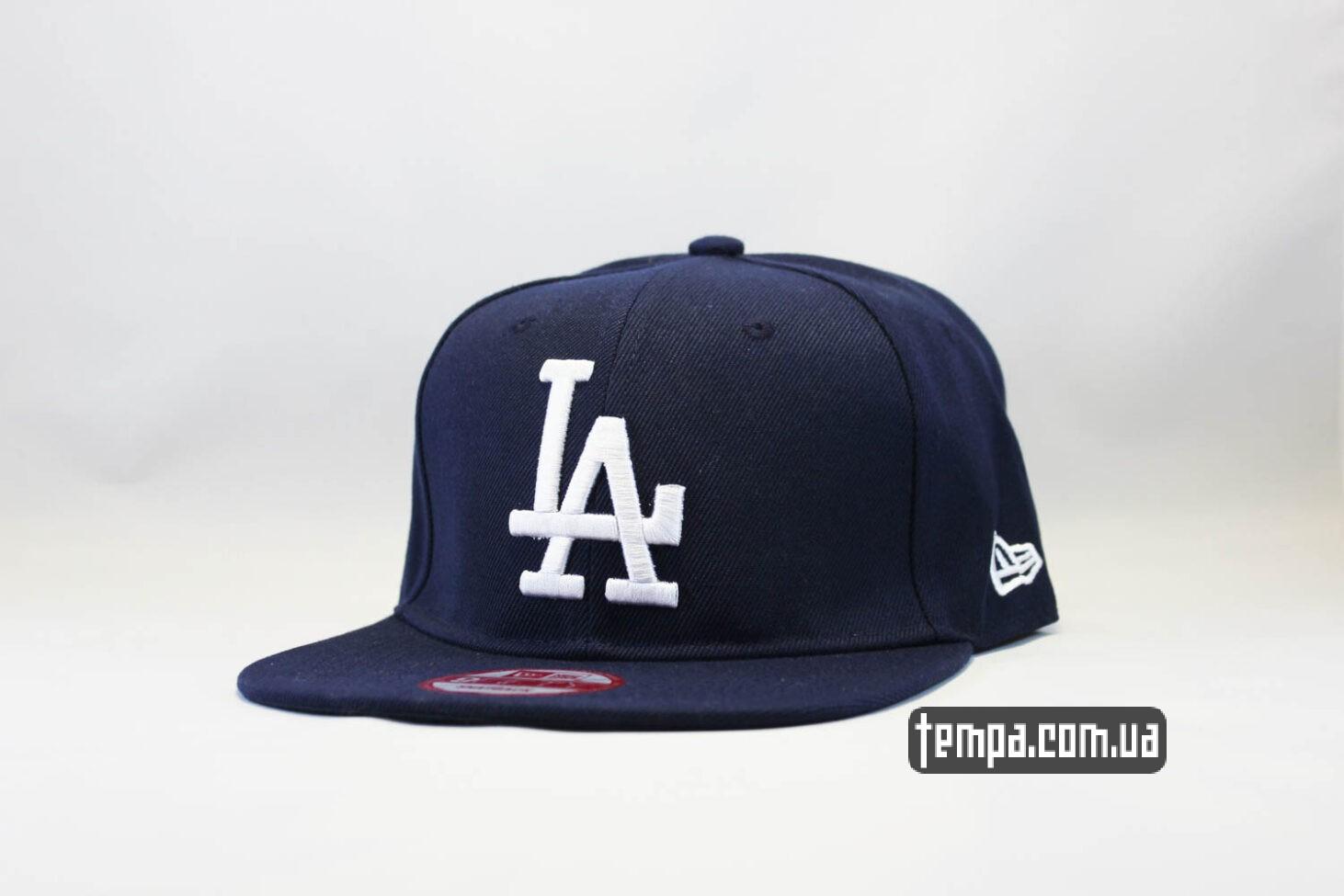 кепка snapback LA Los Angeles New Era синяя_