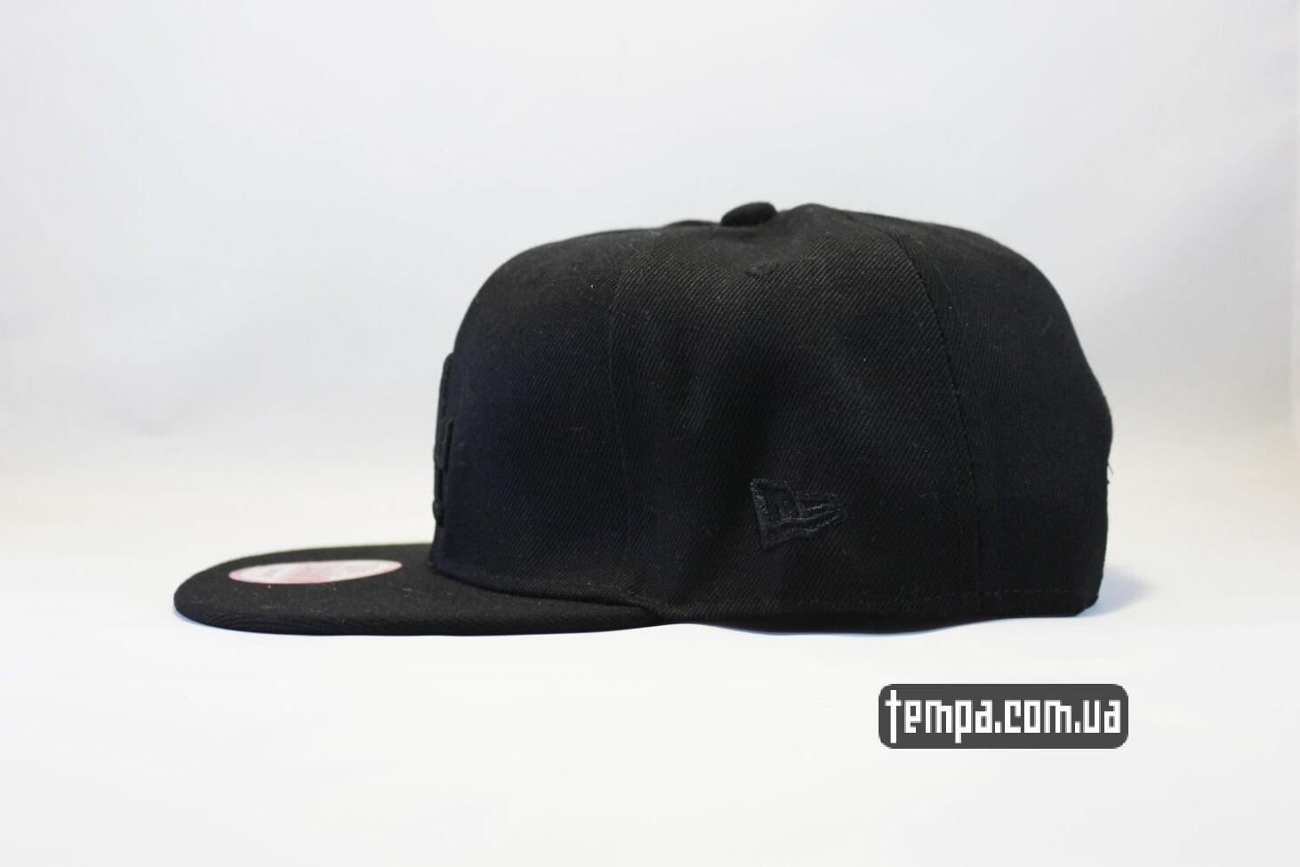 лос анджелес кепка snapback LA Los Angeles New Era 9fifty черная на черном