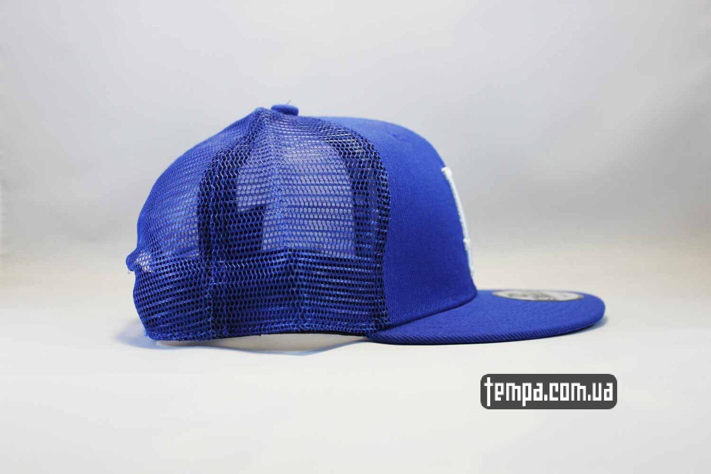 тракер бейсболки украина кепка Trucker Snapback La Los Angeles New Era синяя