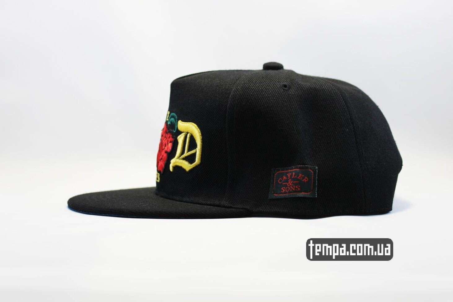 rose бейсболка кепка snapback the good times с розами cayler and sons