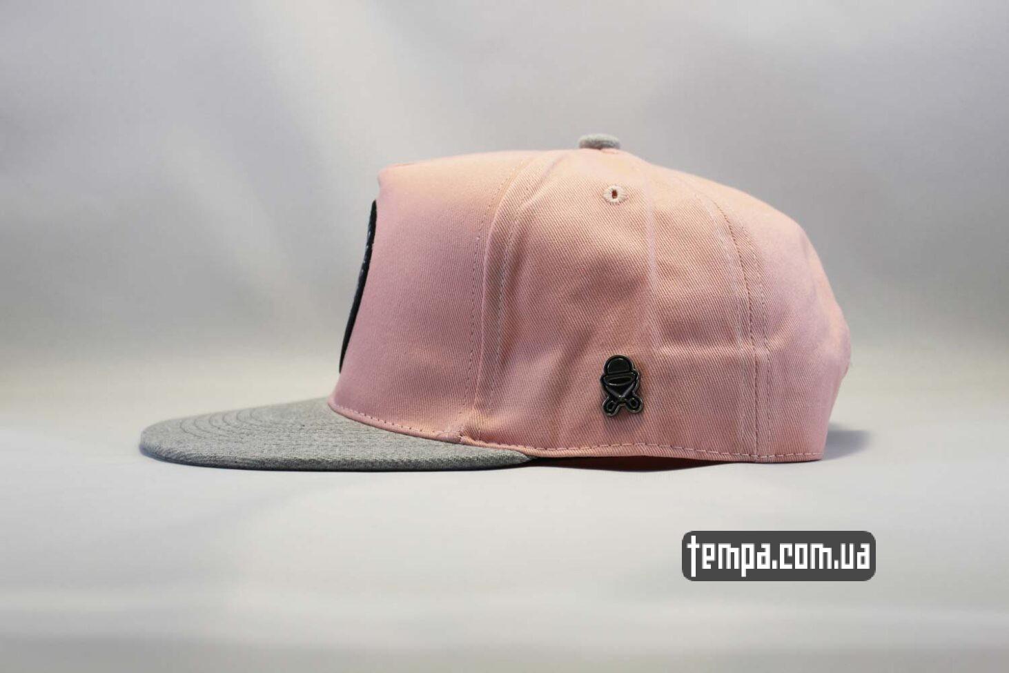 розоваяв бейсболка кепка snapback Endless Holildays club cayler and sons розовая