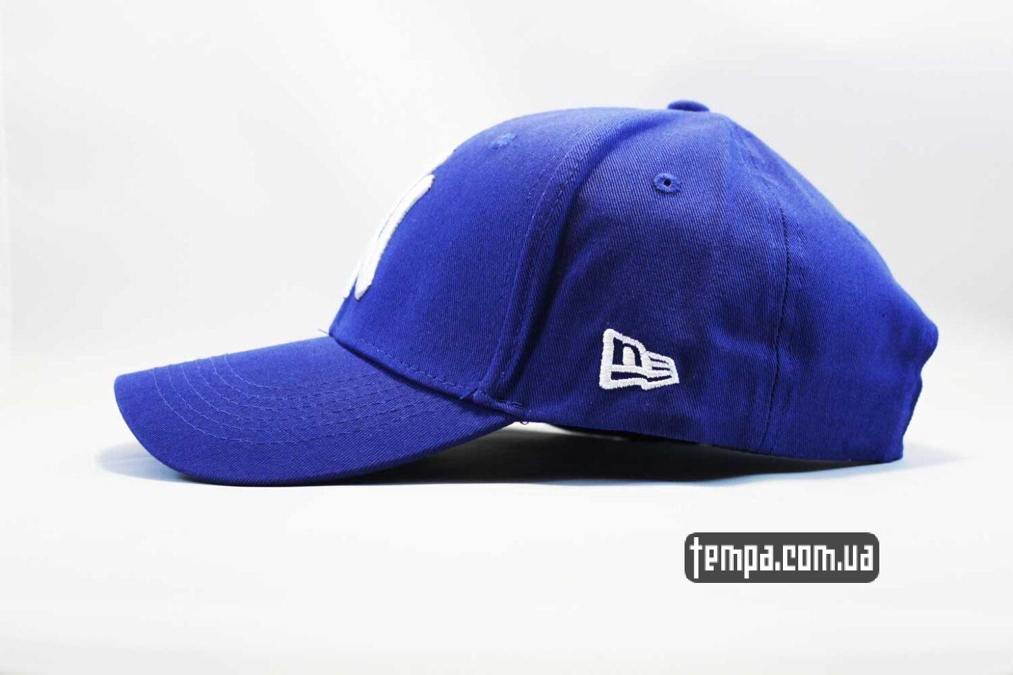 янкис синяя кепка бейсболка yankees New York NY New Era синяя