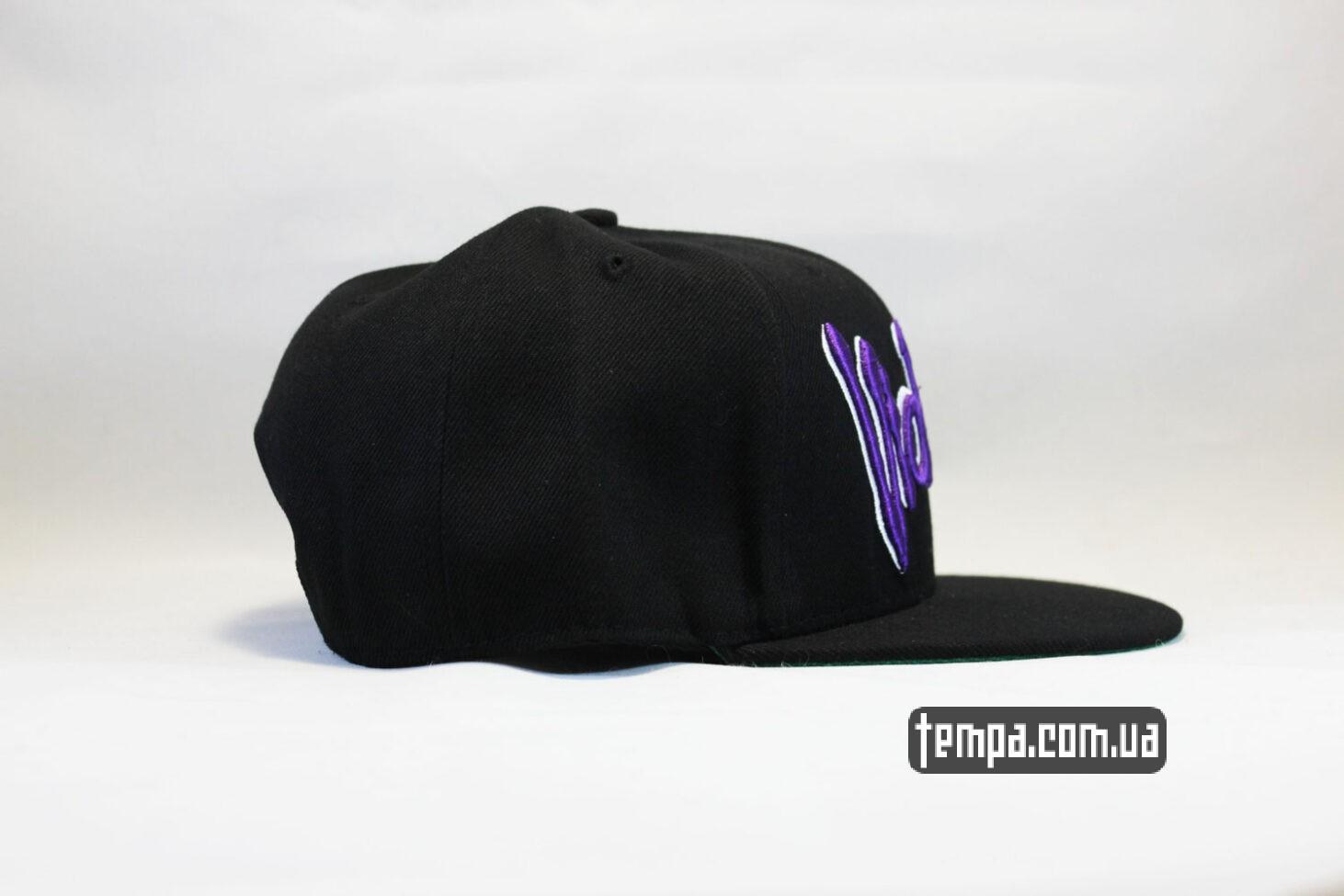 жестокость кепка snapback SSUR Violence бейсболка черная