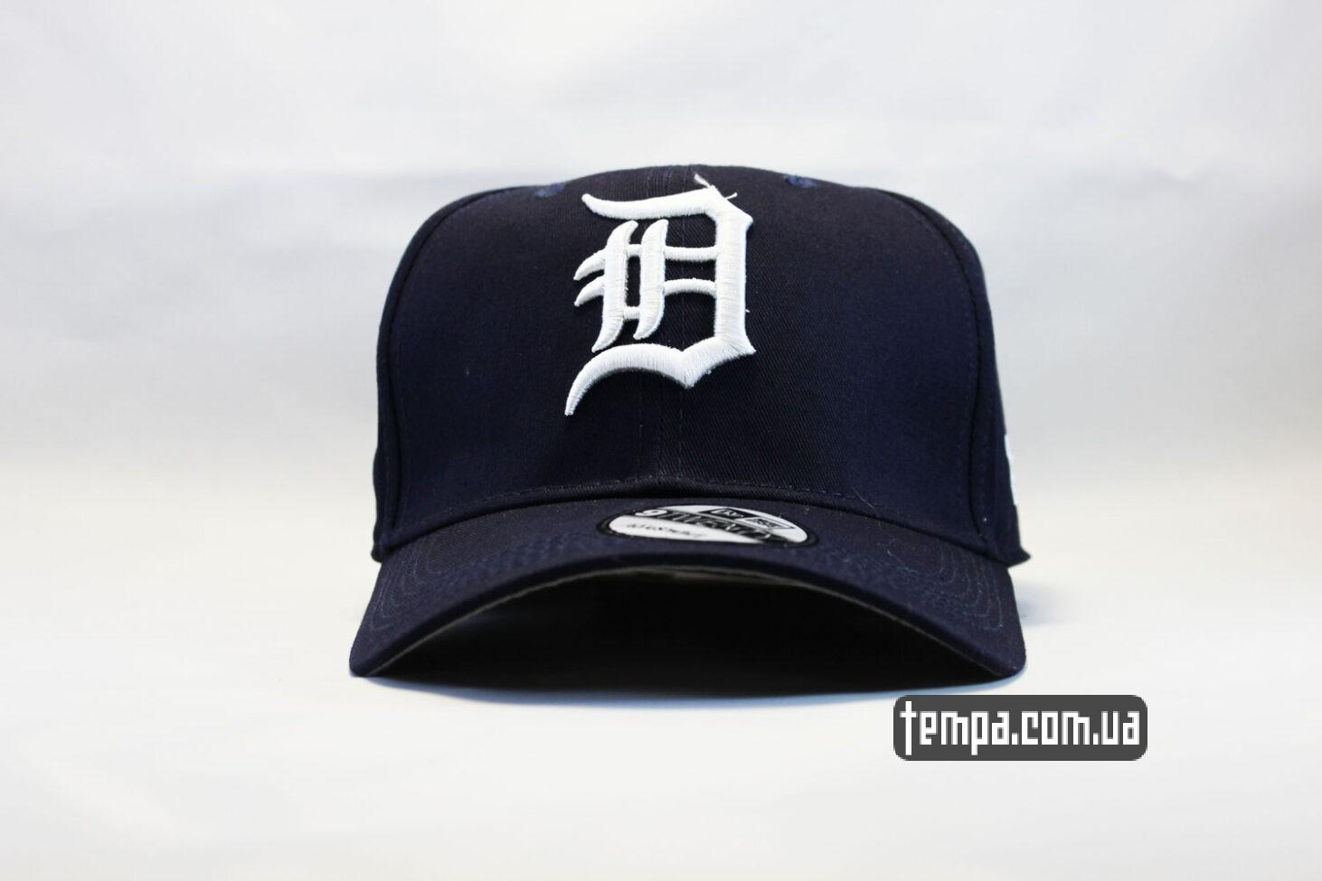 кепка бейсболка Detroit New Era круглый козырек купить