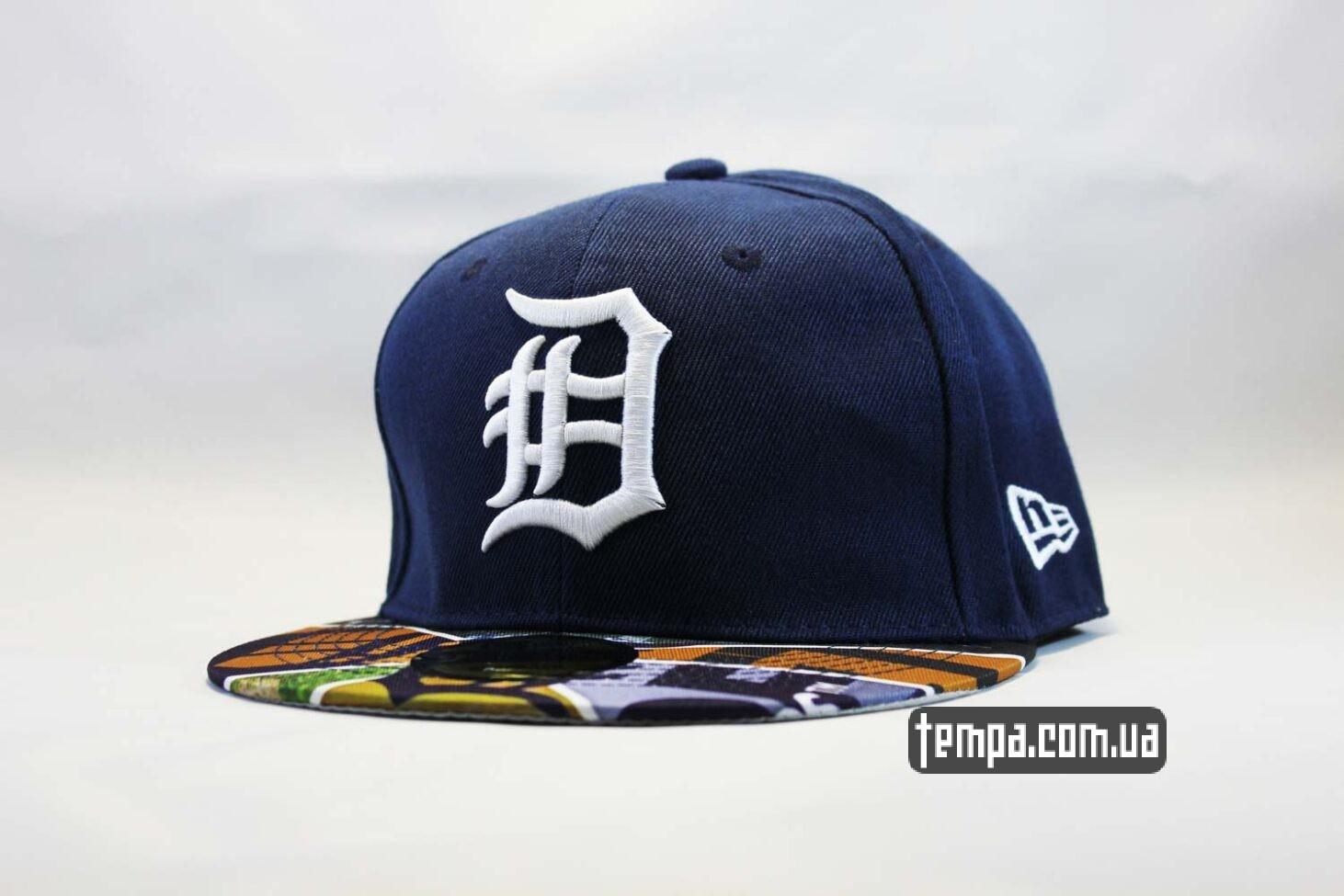 кепка snapback Detroit синяя NewEra