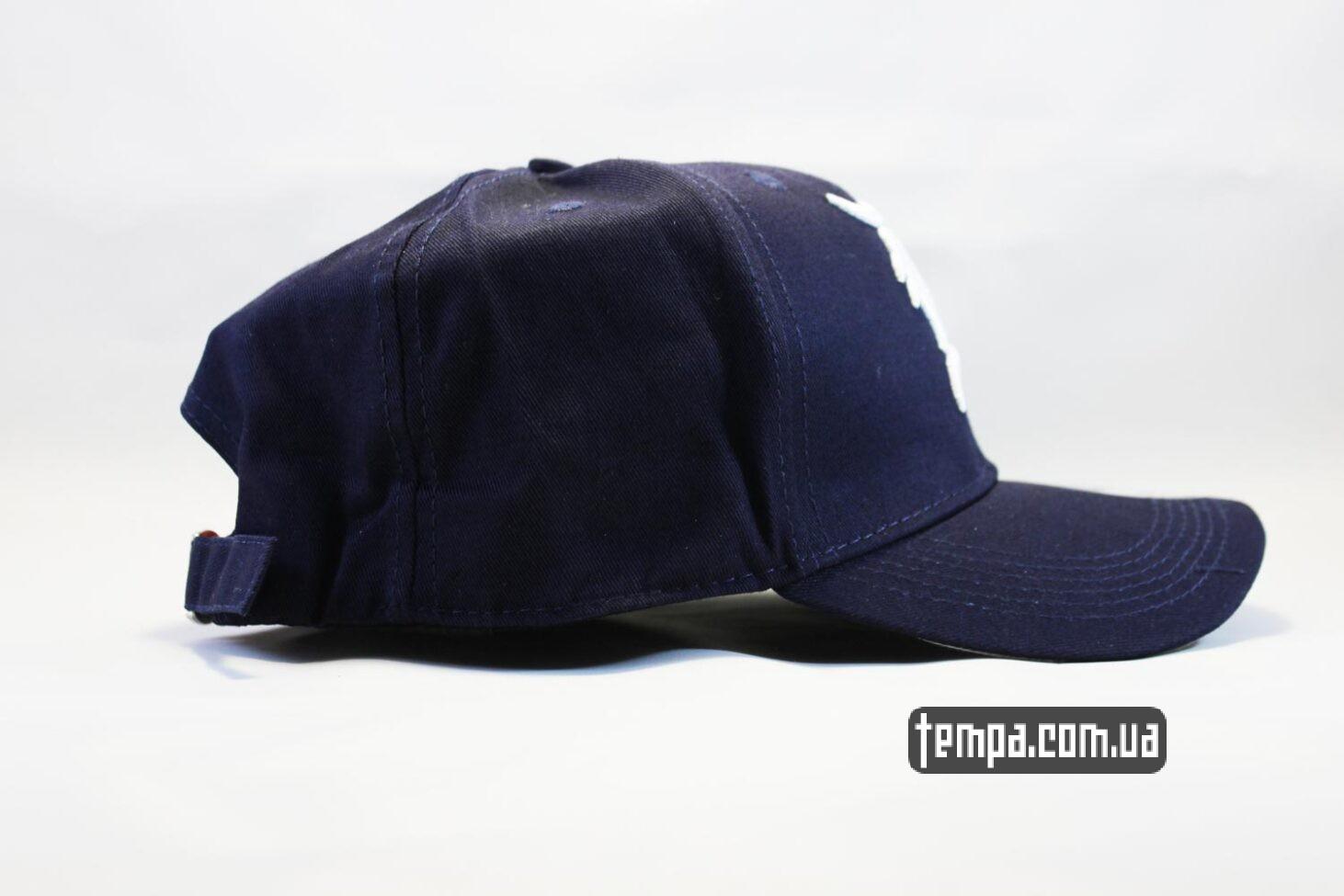синий снепбек Украина кепка бейсболка Detroit New Era круглый козырек купить