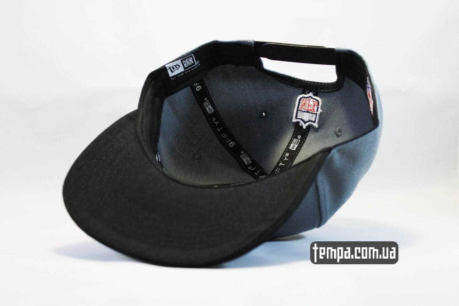 заказать бейсболки кепка snapback Raiders NewEra 9fifty серая