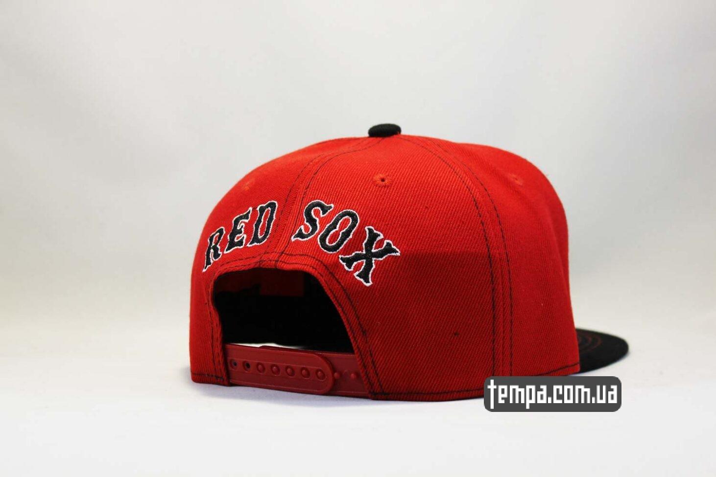 бейсбол одежда кепка snapback Boston NewEra 9fifty бостон бейсбокла купить красно-серая
