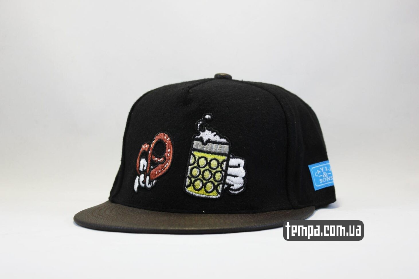 кепка snapback oktoberfest brezel Cayler And Sons замшавая купить