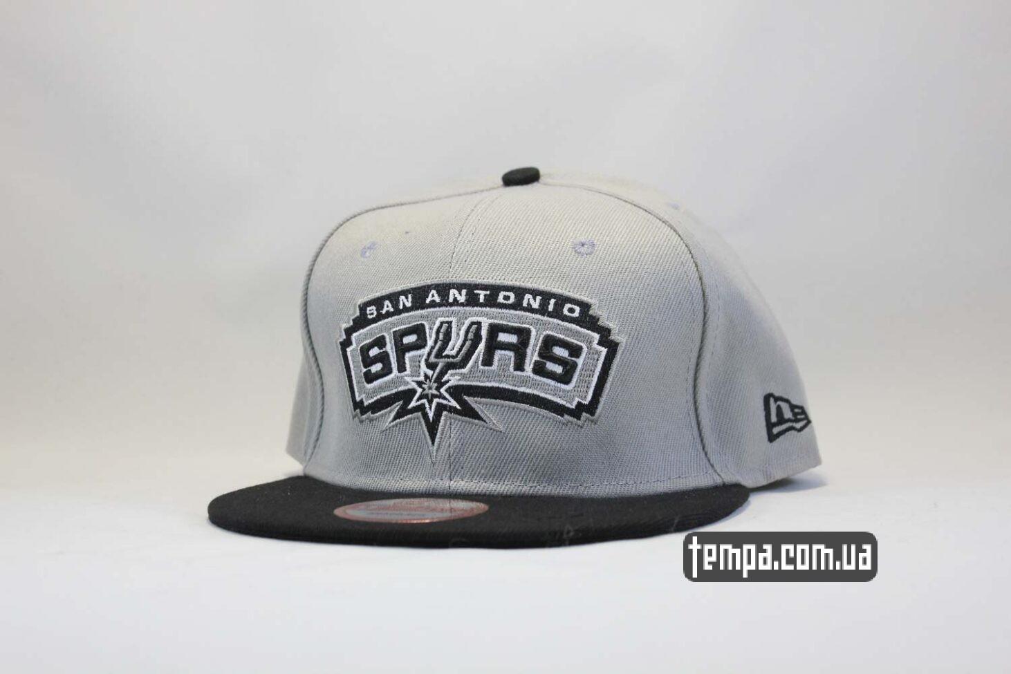 кепка snapback Spurs San Antonio NewEra 9fifty серая