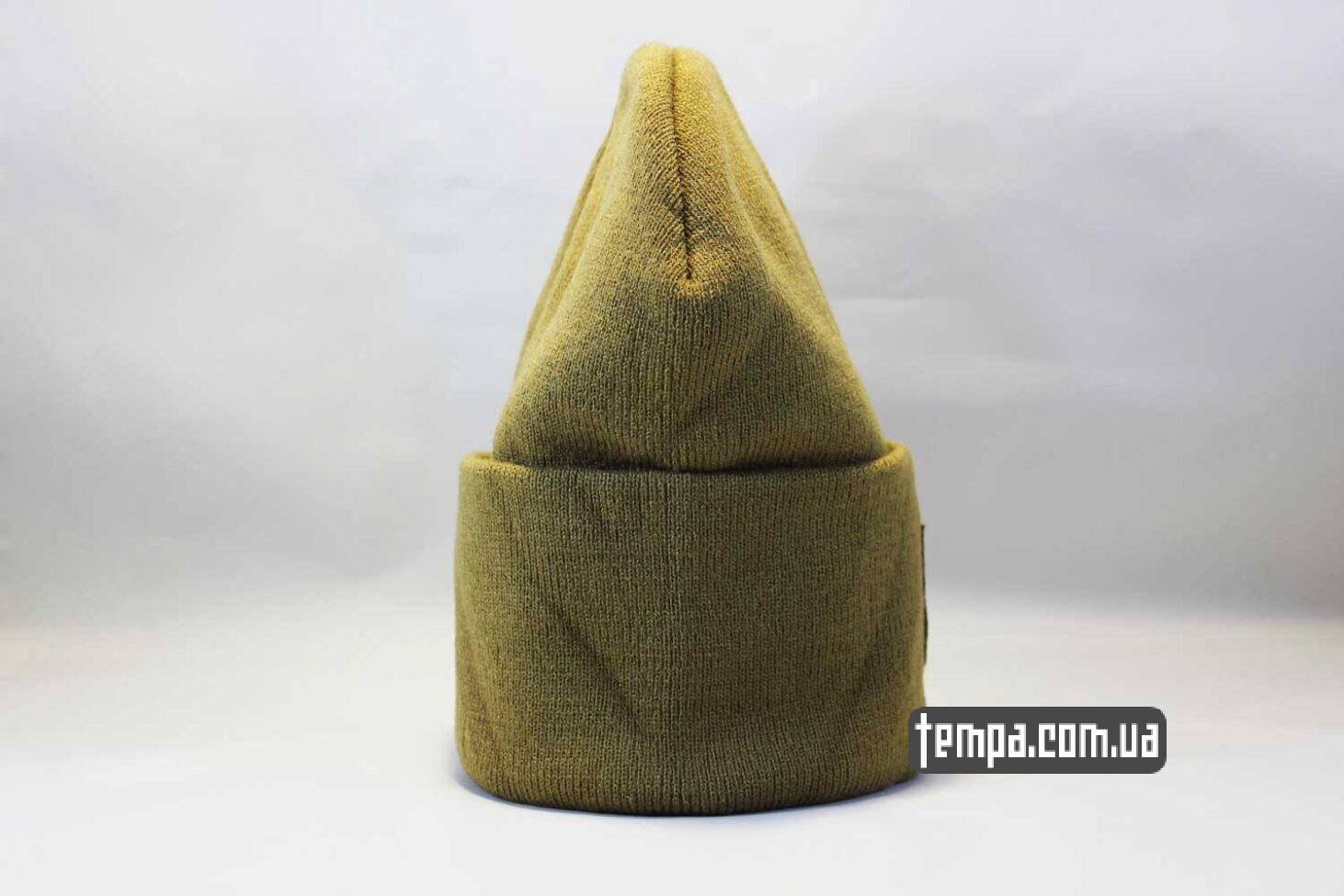 купить оригинал шапка beanie North Face желтая Норс Фейс Украина