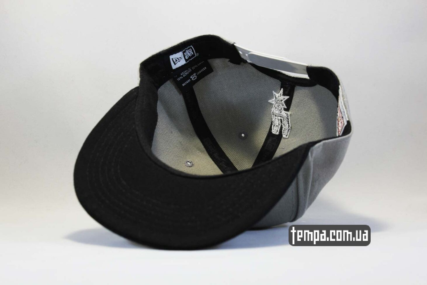 нью эра украина кепка snapback Spurs San Antonio NewEra 9fifty серая