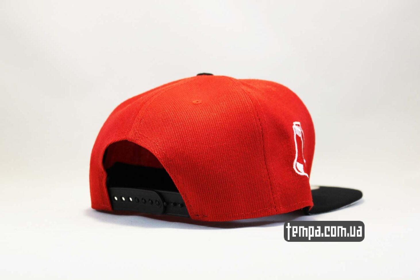 одежда для бейсбола кепка snapback красная New Era RED SOX оригинал 9fifty