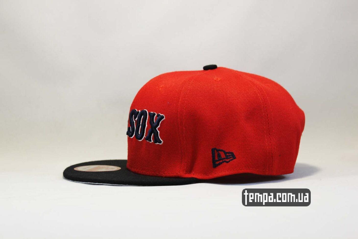 ред сокс бейсболка кепка snapback красная New Era RED SOX оригинал 9fifty