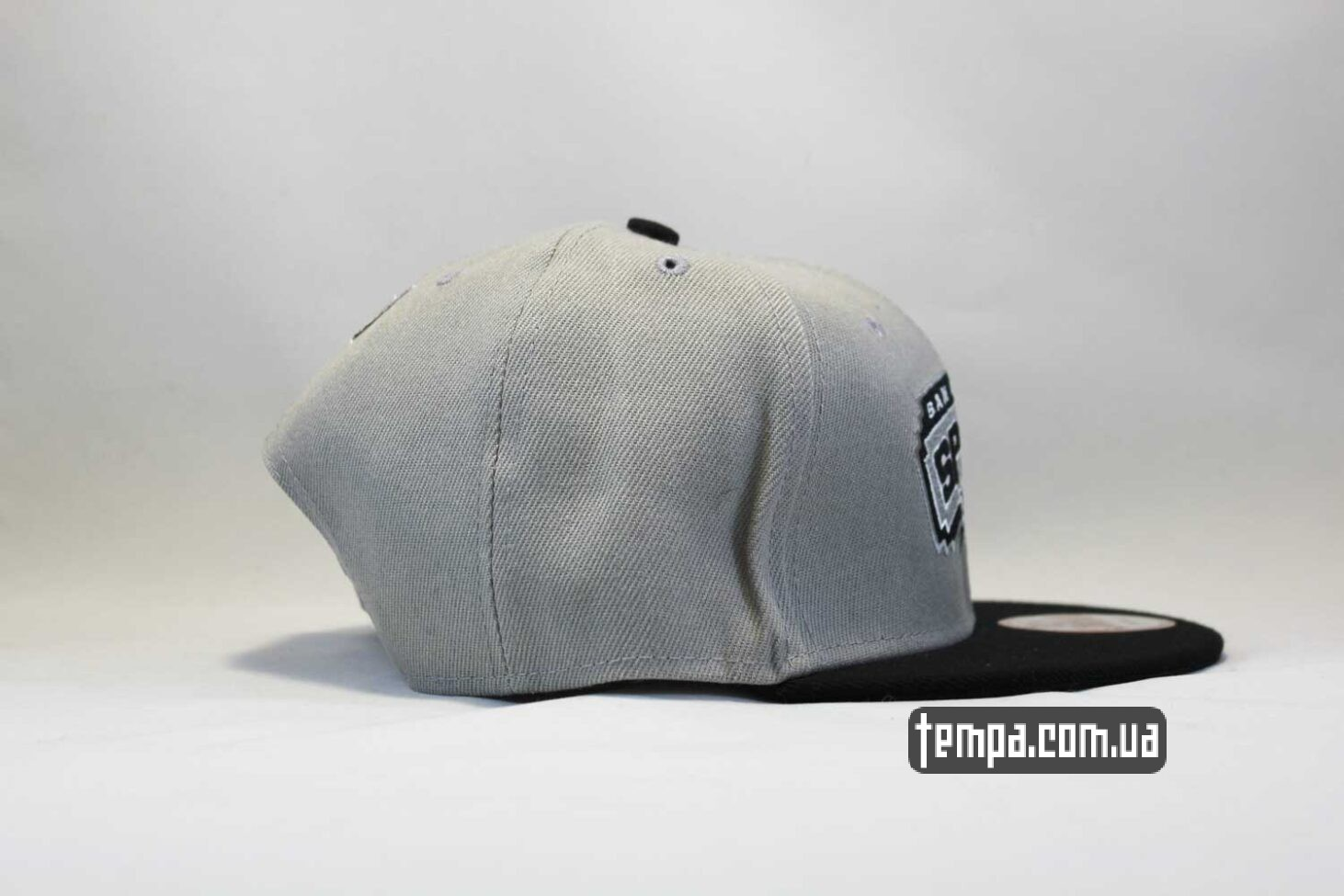 Сперс Спурс Баскетбол кепка snapback Spurs San Antonio NewEra 9fifty серая