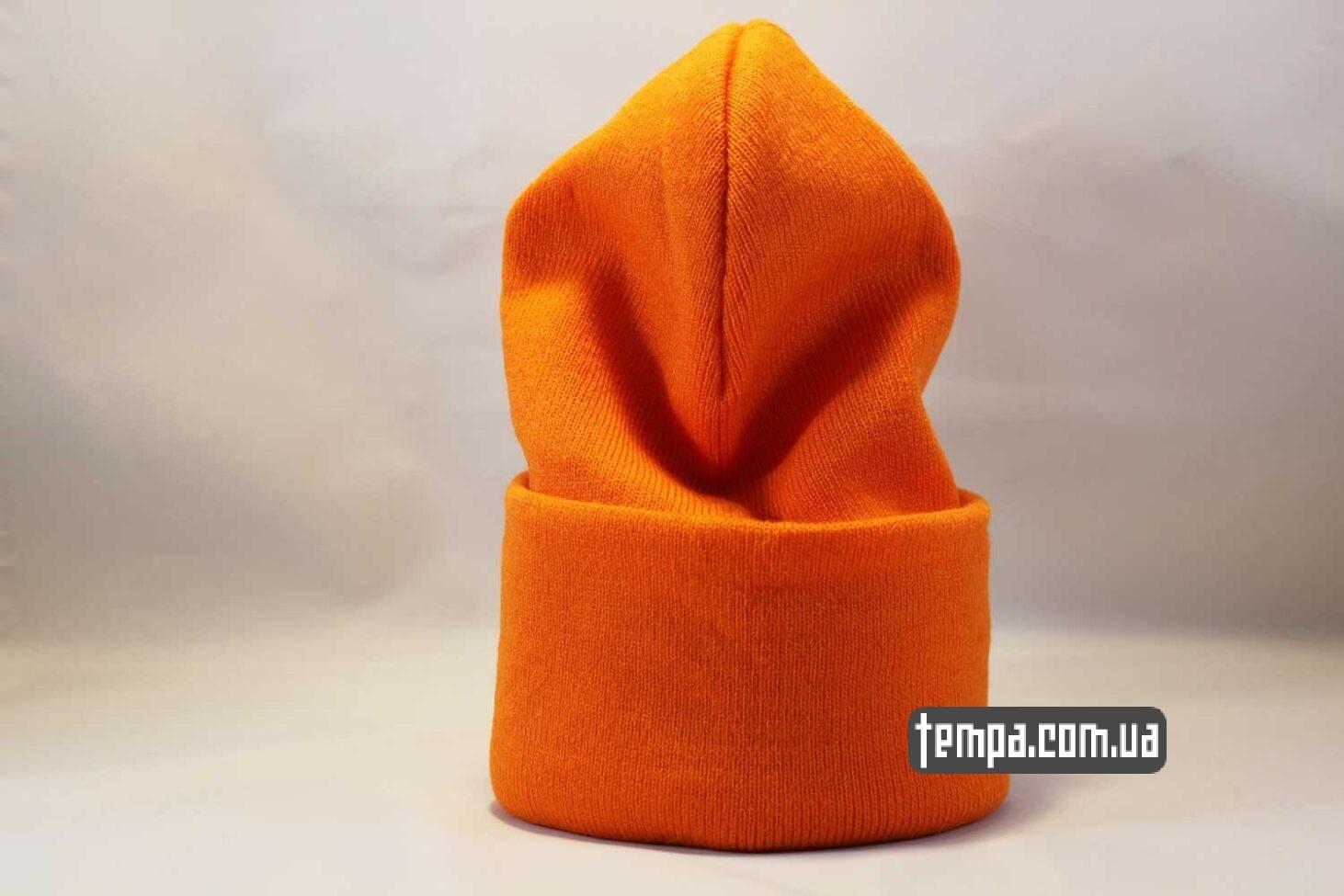 яркая одежда Украина шапка beanie Aape оранжевая яркая купить Украина