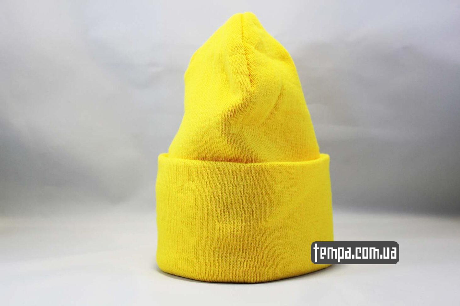 yellow beanie шапка beanie Aape желтая Украина Купить