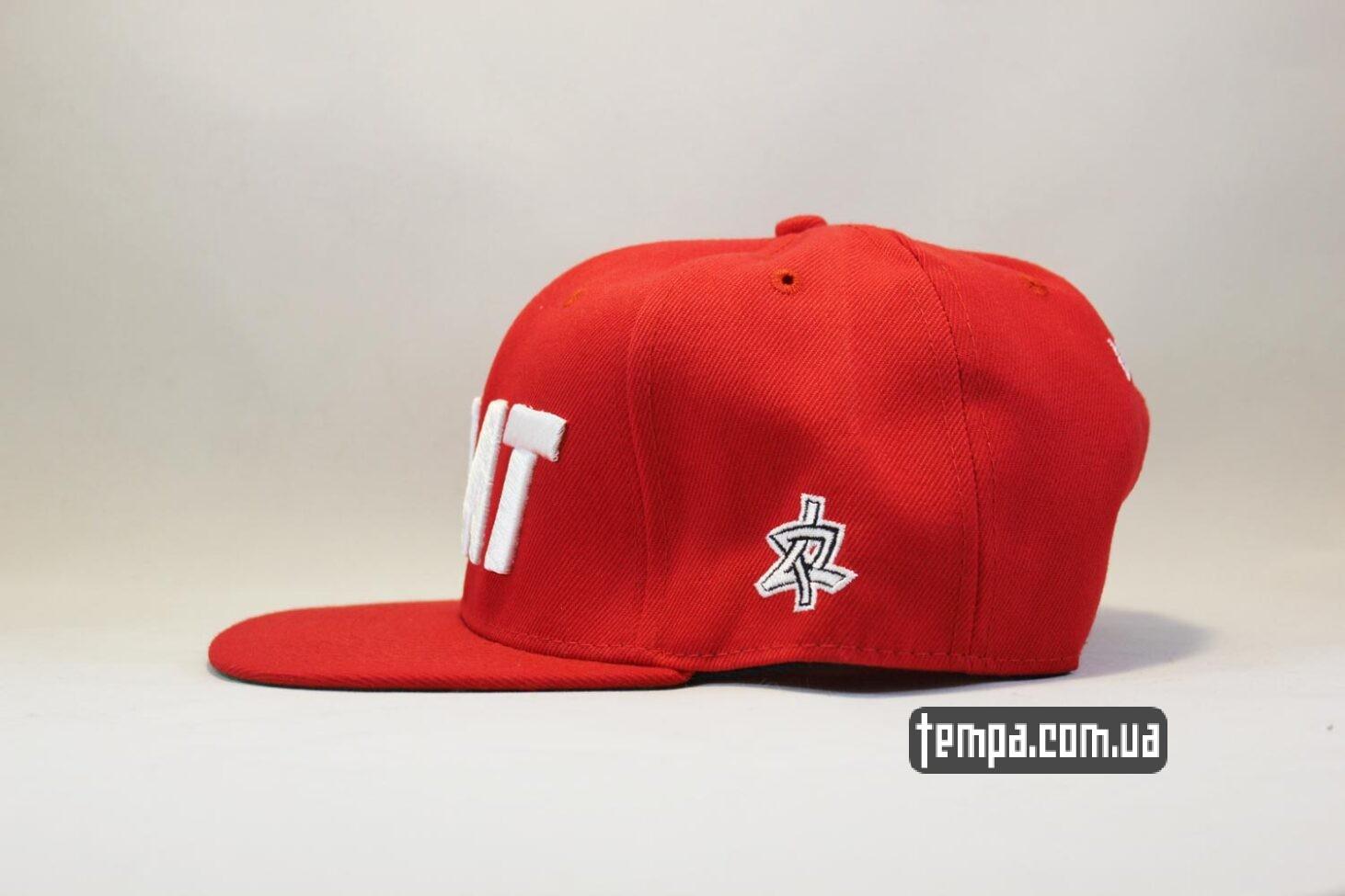 жирдяй жирный fat phat кепка Snapback ASOS PHAT Red красная бейсболка